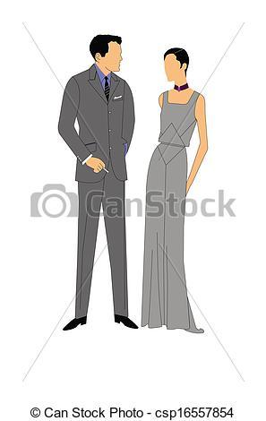 Clipart formal attire.