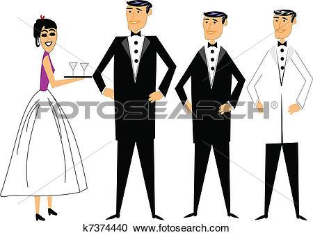 Clipart of formal attire k7374440.
