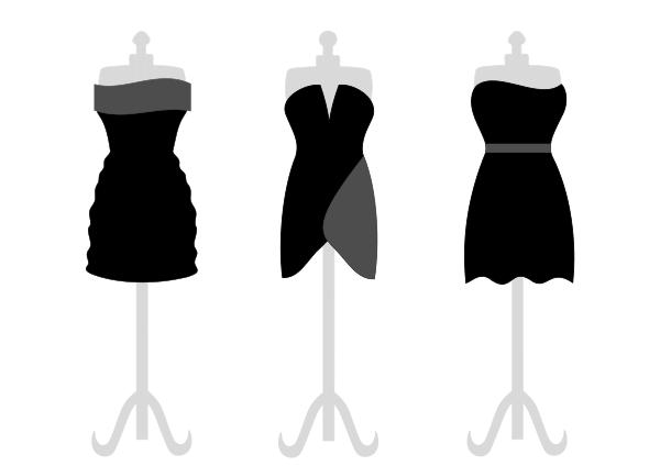 Dresses Clip Art Download.