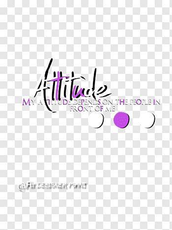 Attitude cutout PNG & clipart images.