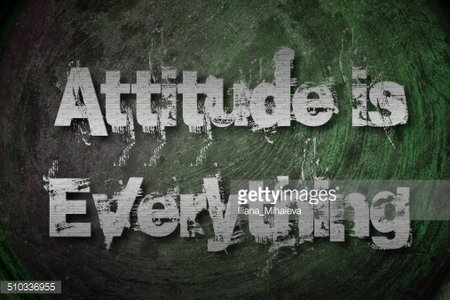 Attitude is Everything Clipart Image.