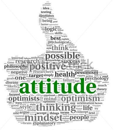 My life my attitude clipart.