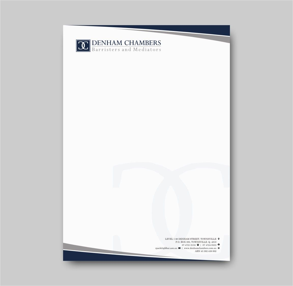 Modern, Professional, Legal Letterhead Design for a Company.