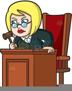 Female Attorney Clipart.