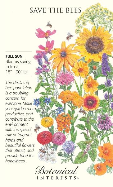 Plant a Bee Garden.