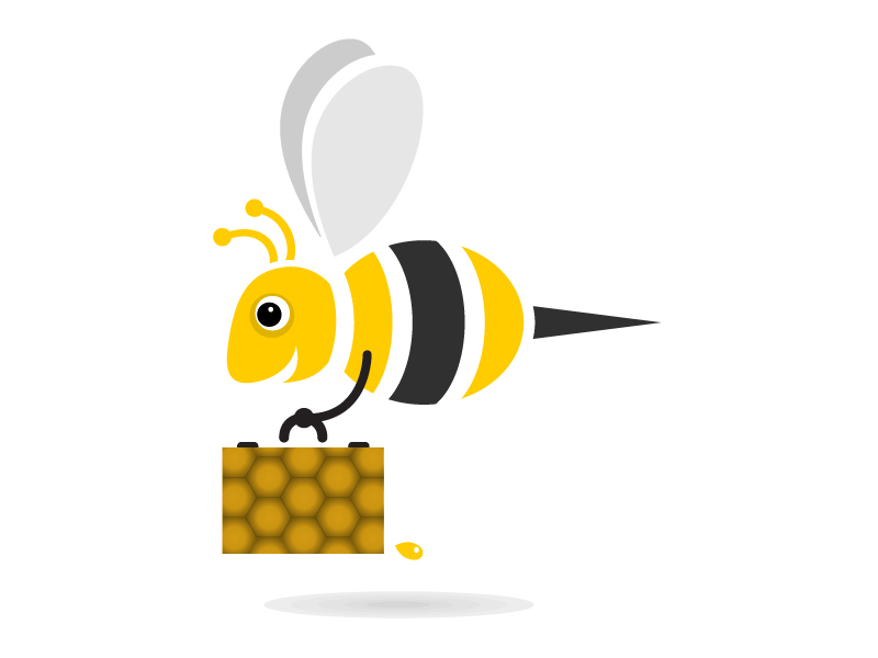Honey Bees Images.