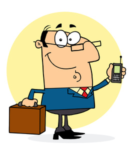 Lawyer Clipart Image.