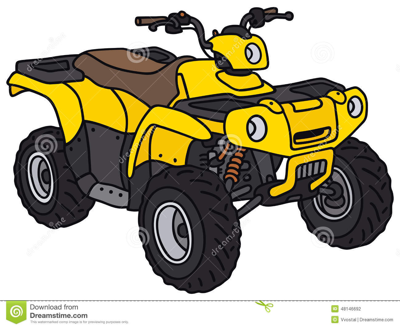 Atv clipart images.