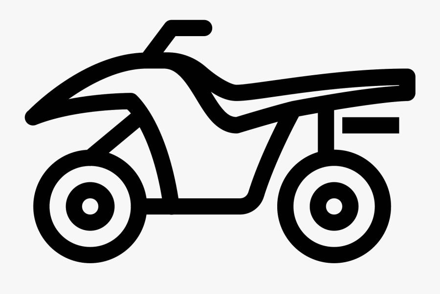 Quad Bike Icono.