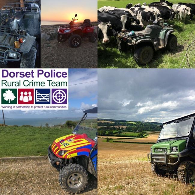 Dorset Police issue warning as ATV and UTV thefts rise.
