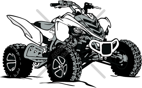 ATV Vector Clipart.