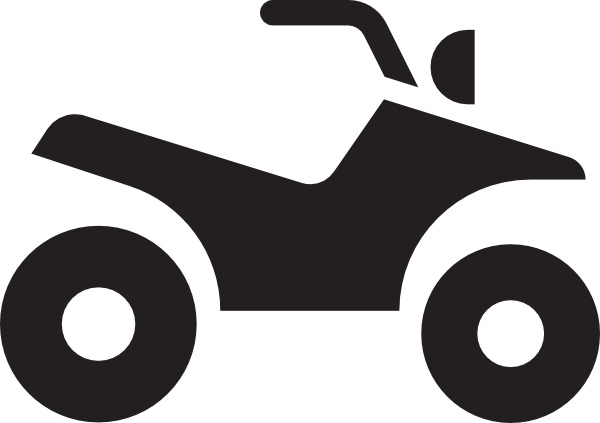 Atv White clip art Free vector in Open office drawing svg.