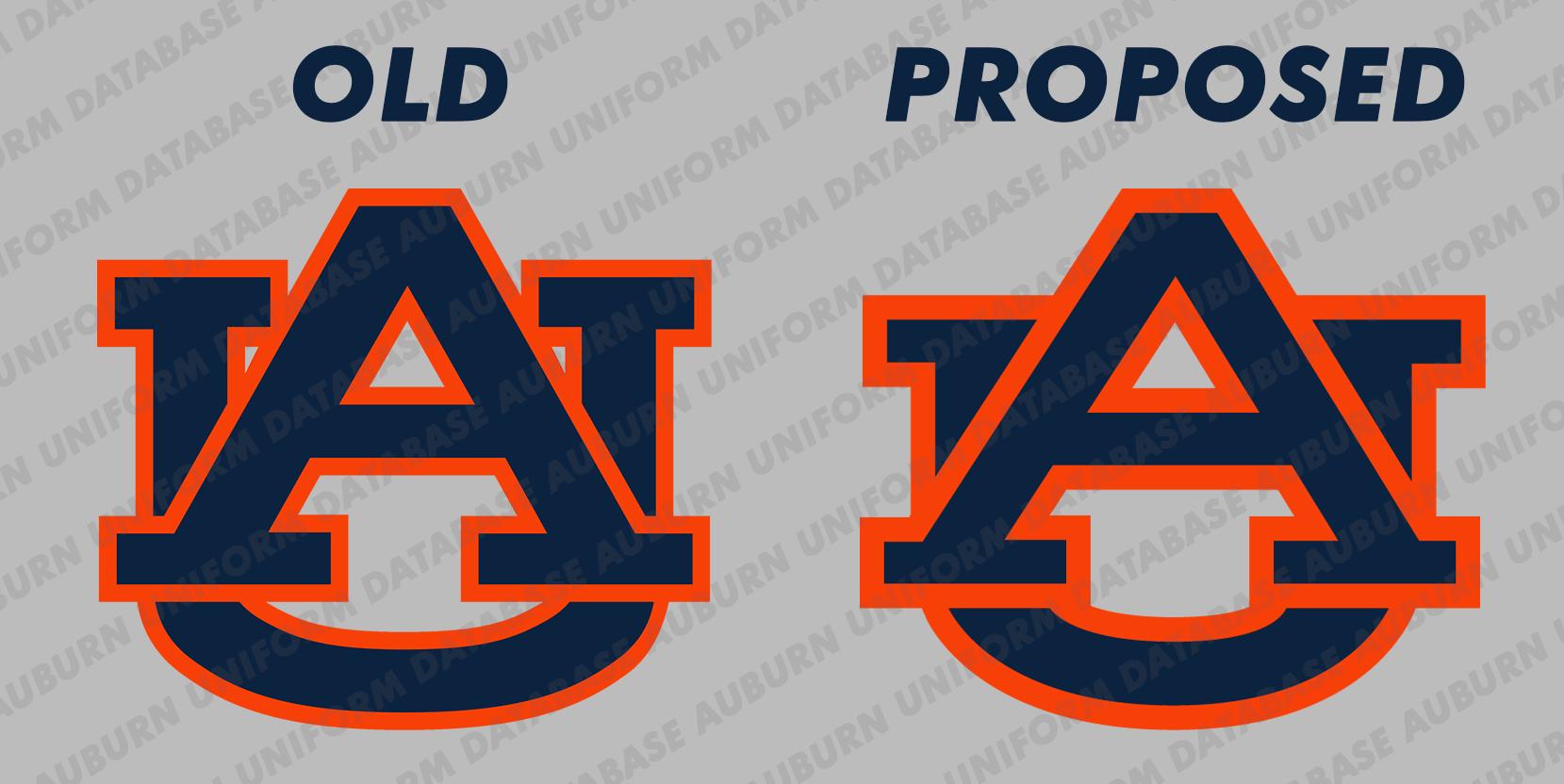 Auburn Changing Logo.