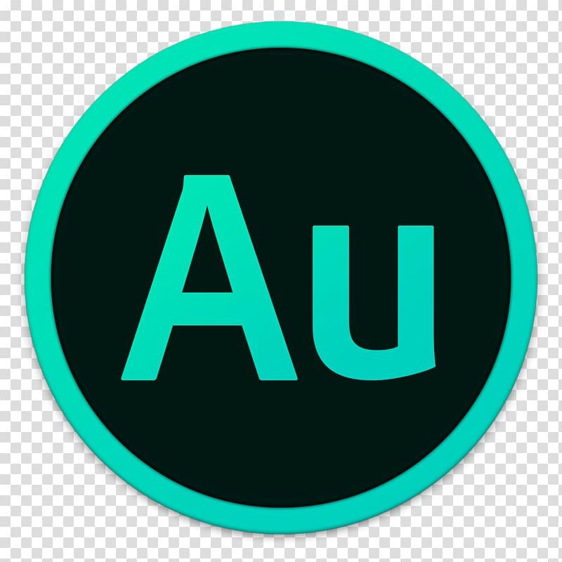 AU logo, area text brand, Adobe Au transparent background.