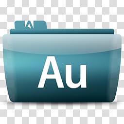 Colorflow am Adobe, Adobe Au logo transparent background PNG.