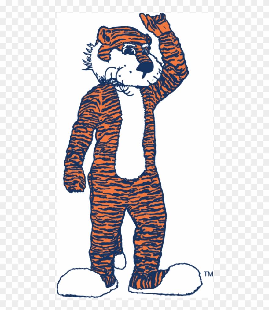 Auburn Tigers Iron On Stickers And Peel.