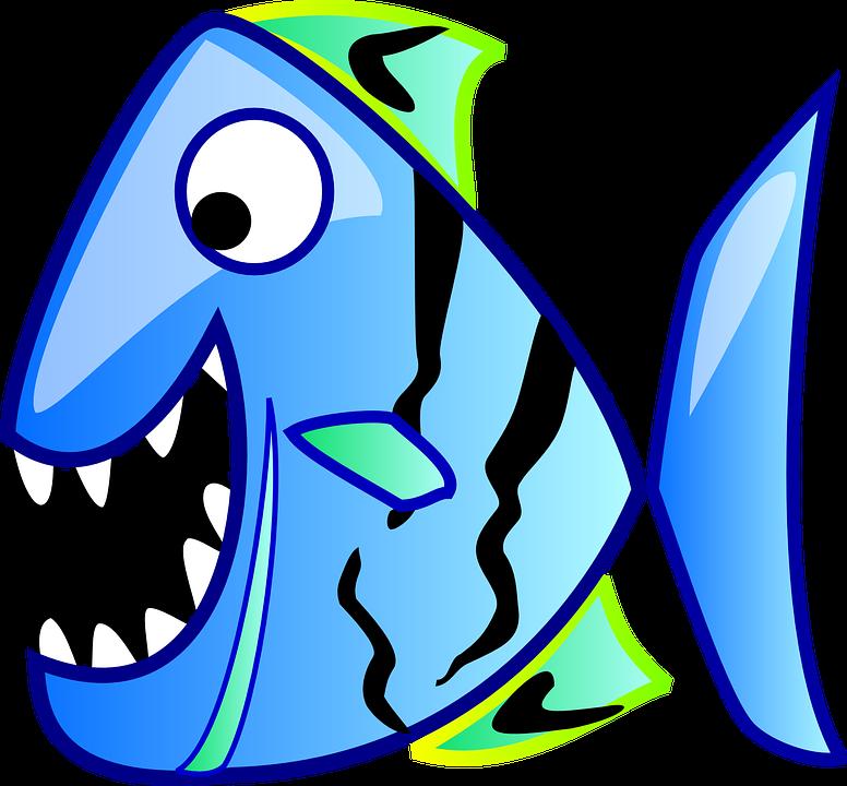 Free photo Water Fish Underwater Funny Aquarium Blue.