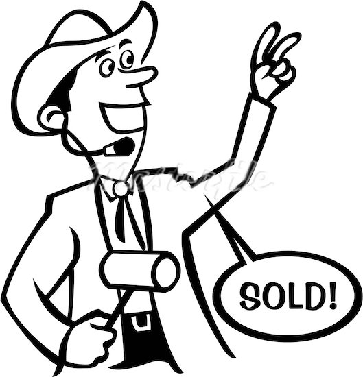 One Line Art Action : Auction clipart clipground