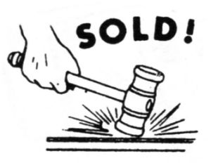 Auction Clipart.