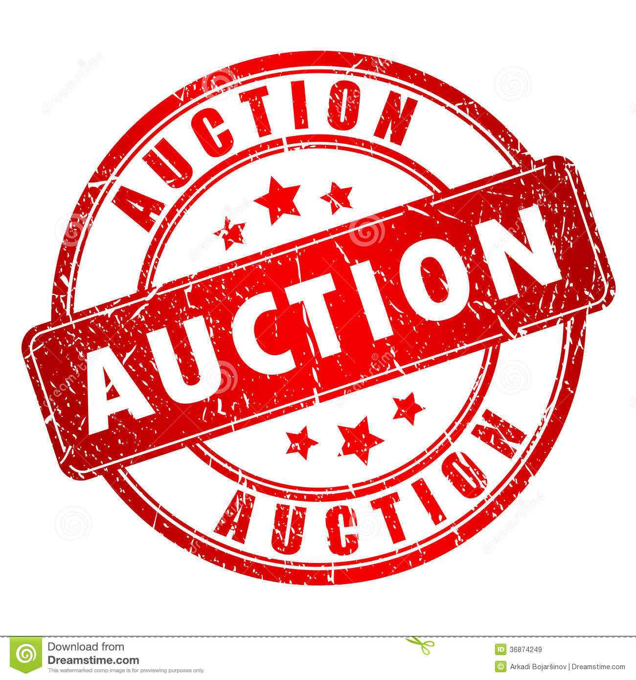 Art Auction Clipart.