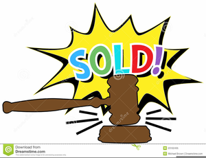 Funny Auction Clipart.