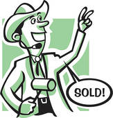 Auctioneer Clipart.