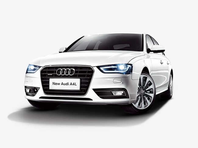 Audi A4 Clipart.