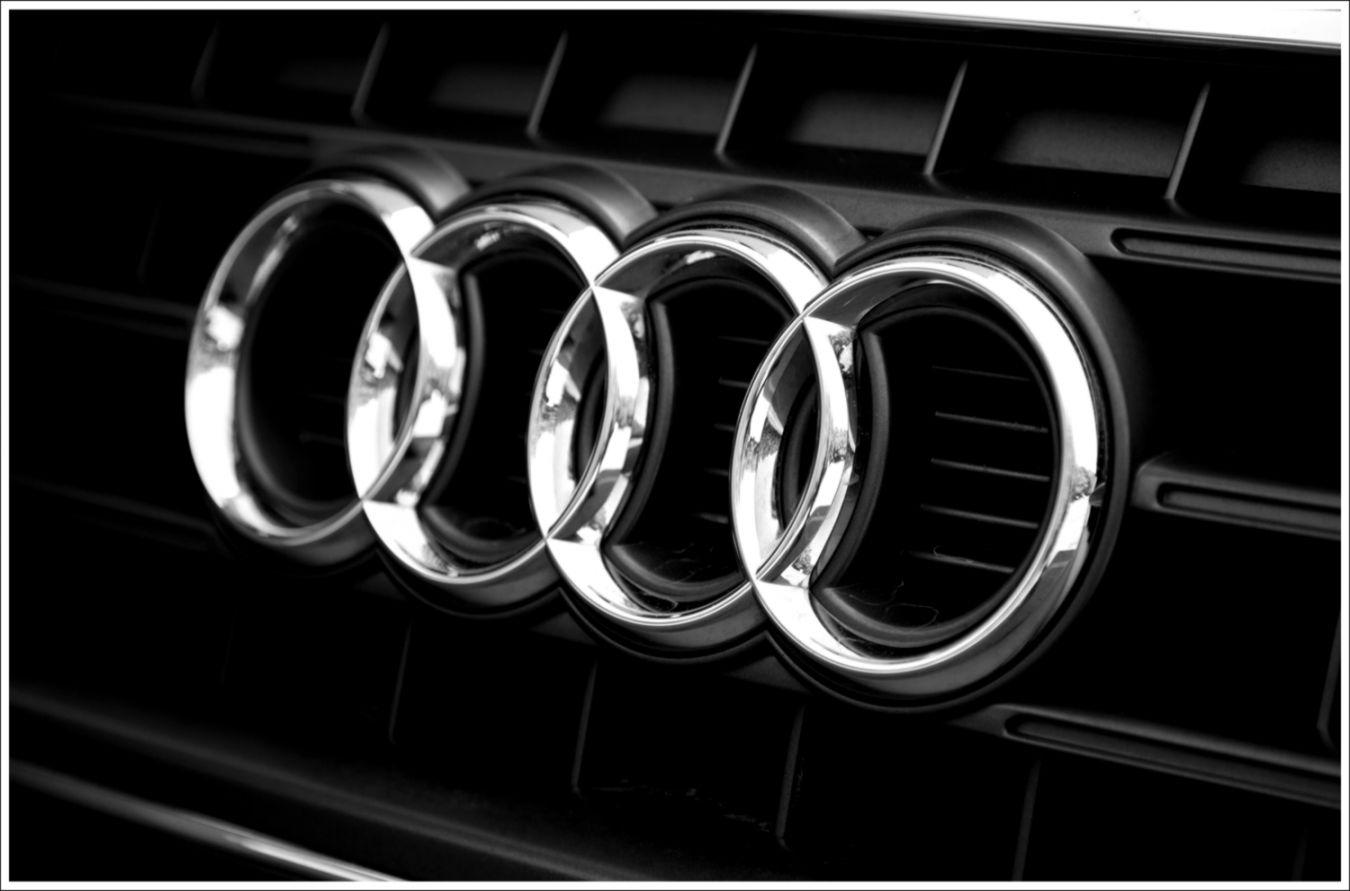 Audi Logo Car.