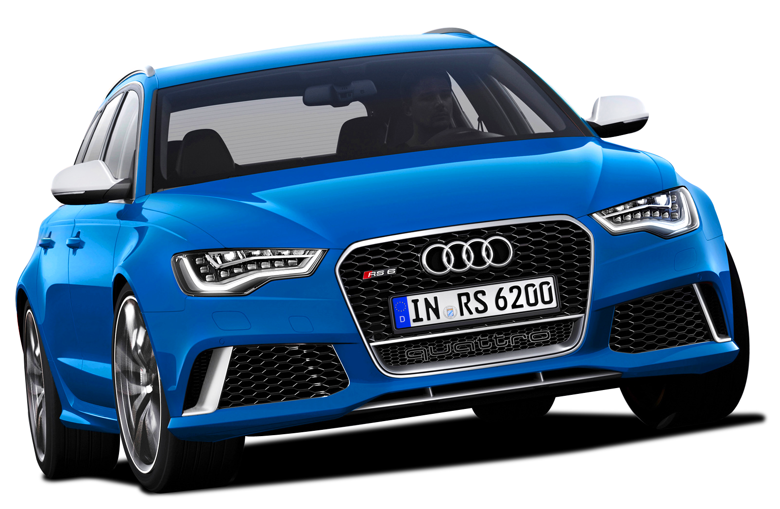 Clip Art Blue Audi.