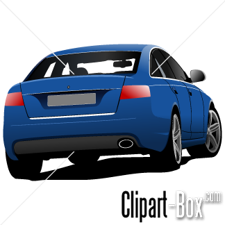 Rearview clipart #2