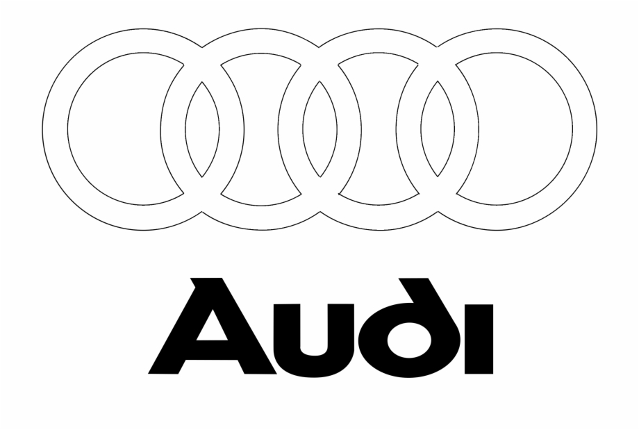 Audi Logo Black And White.