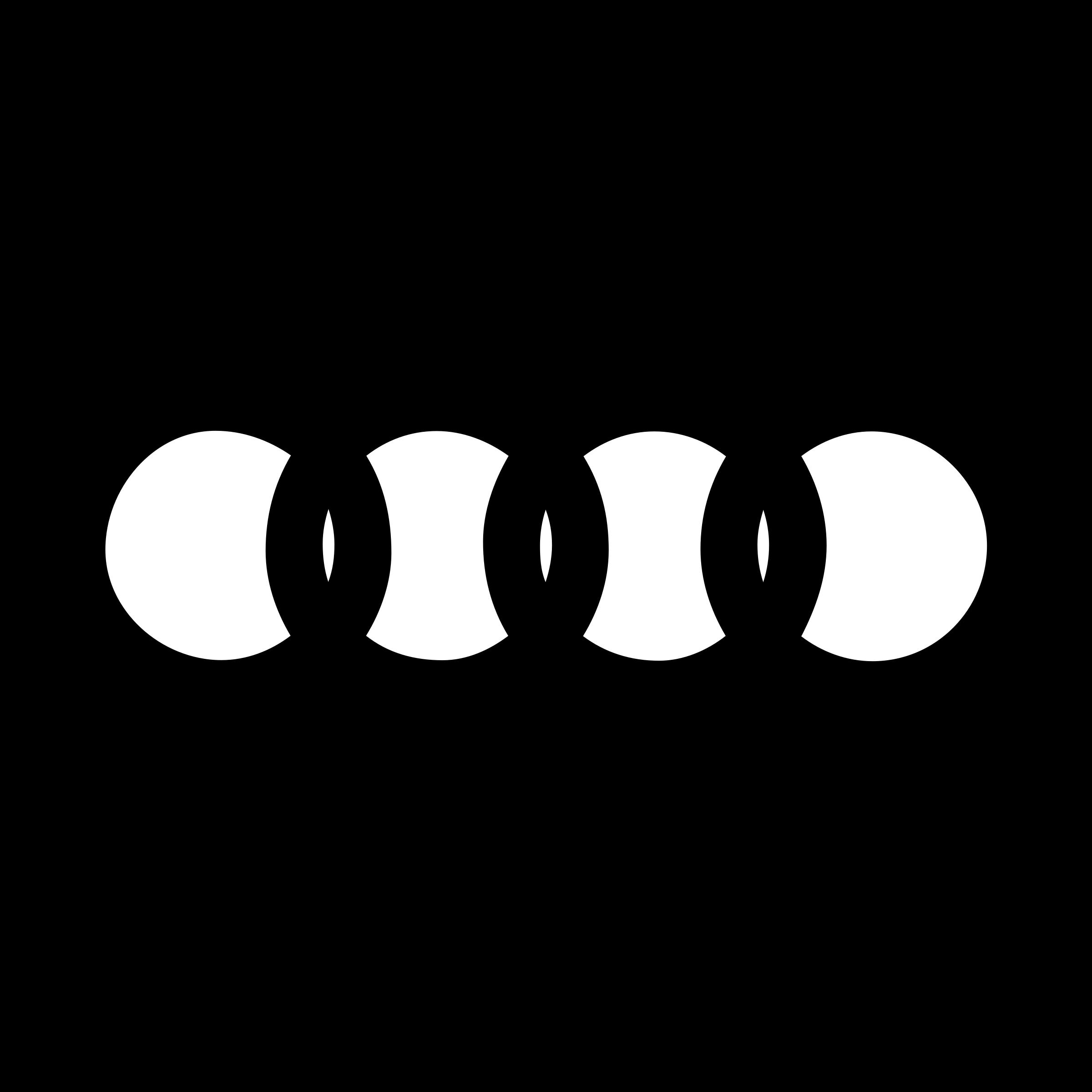 Audi Logo PNG Transparent & SVG Vector.