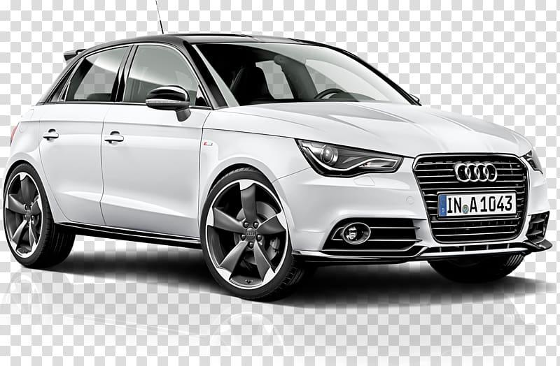 White Audi 5.