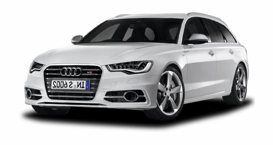 White Audi Png Car Image.