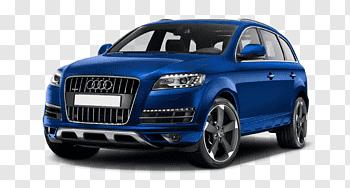 2015 Audi Q7 Suv cutout PNG & clipart images.