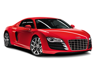 Red Audi R8 PNG.