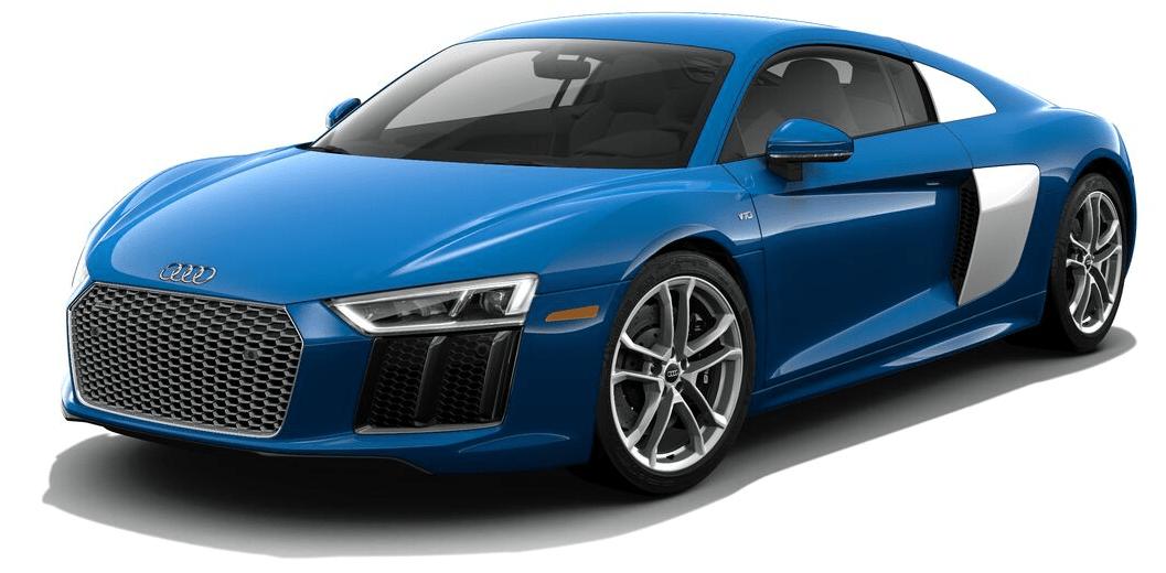 2017 Audi R8 V10 Plus.