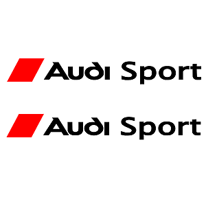 Details about 2 NEW LARGE AUDI SPORT BODY WORK LOGO TT A3 A4 S3 A5 A6 R3  CHOICE OF COLOURS.