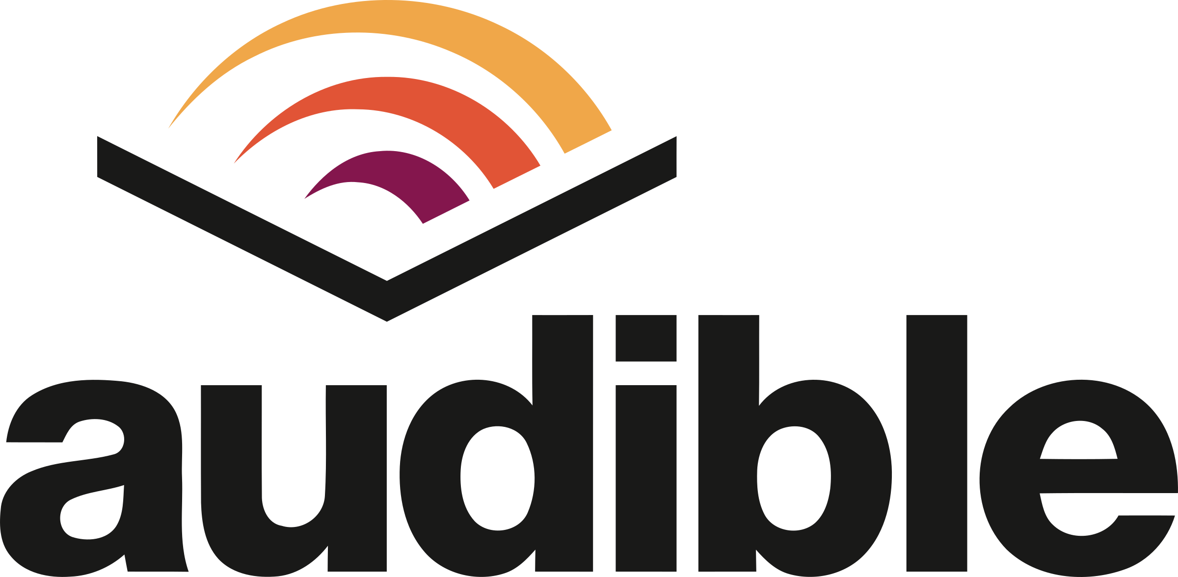 Audible Logo PNG Transparent & SVG Vector.