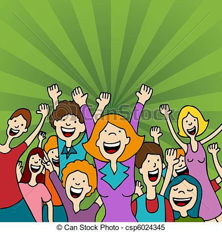 342 Audience free clipart.