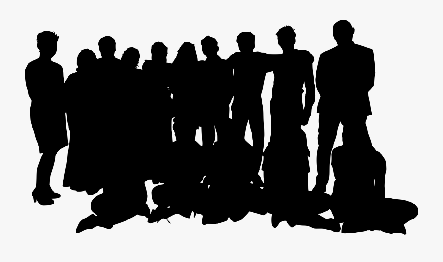 Crowd Png Group Of People Transparent Background.