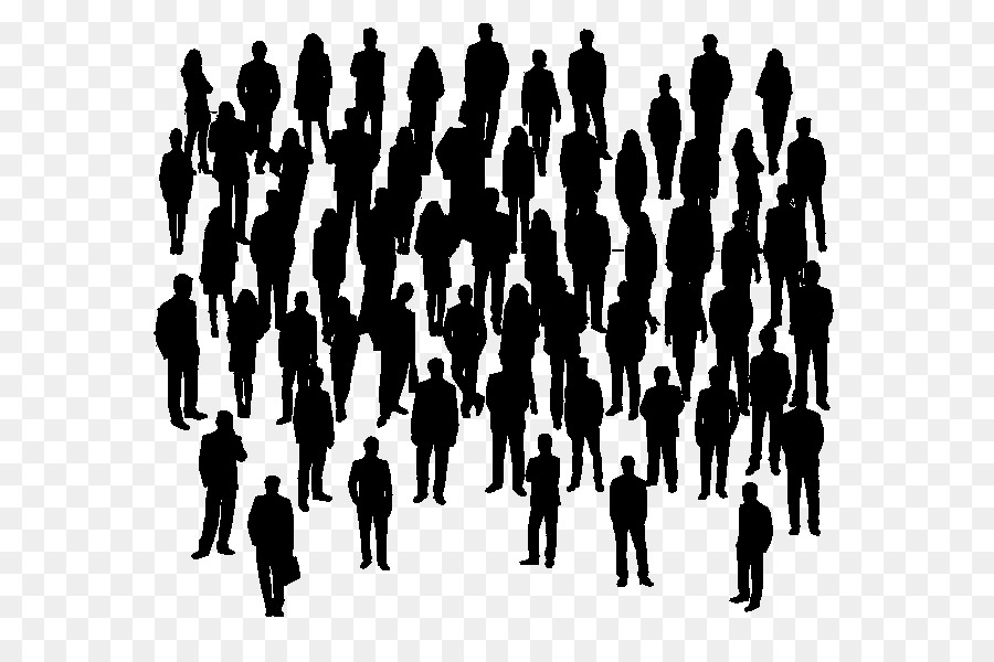 People Top View Png Crowd Clipart Transparent Background.