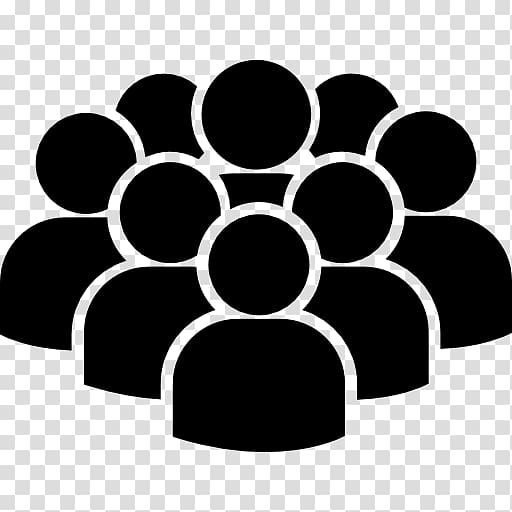 Computer Icons Crowd Audience Social group, crowd transparent.