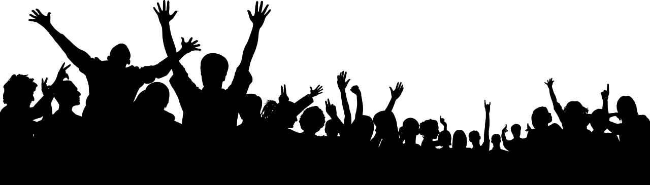 Audience Silhouette Png images collection for free download.