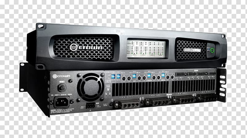 Audio power amplifier Crown International Digital audio.