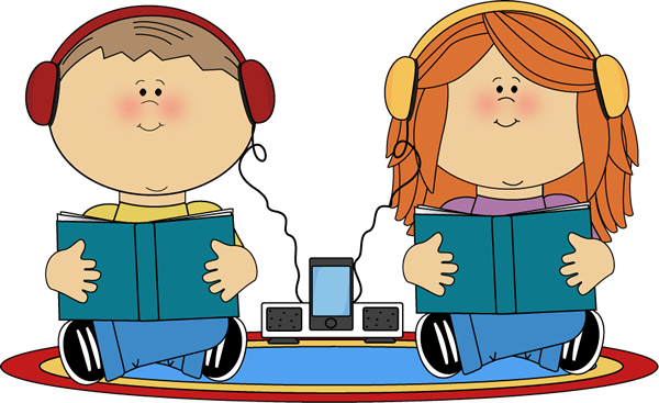 Audio Books Clipart.