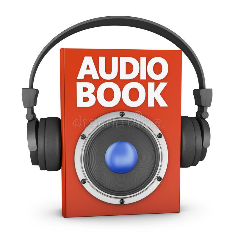 Audiobook Stock Illustrations.
