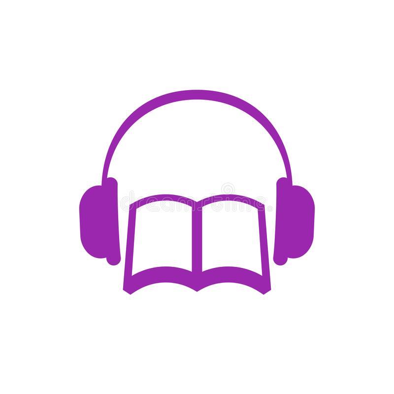 Audiobook Icon Stock Illustrations.