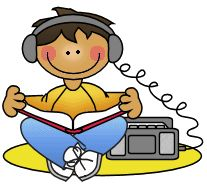 Audio books clipart 3 » Clipart Station.