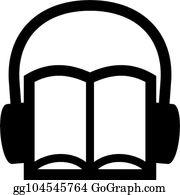 Audio Book Clip Art.